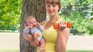 ćwiczenia i fitness w czasie połogu
