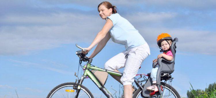przewożenie dziecka na rowerze
