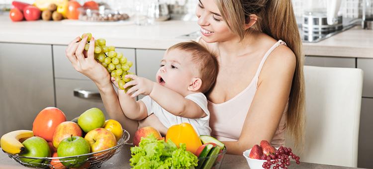 owoce dla dziecka