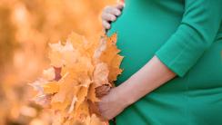 jesień w ciąży
