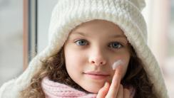Ochronne kremy zimowe dla niemowląt
