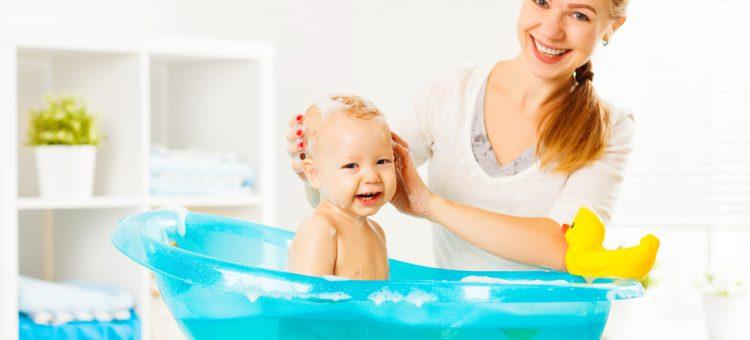 niemowlę kąpiel