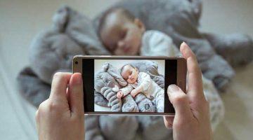 dziecko w internecie - niemowlę w mediach społecznościowych