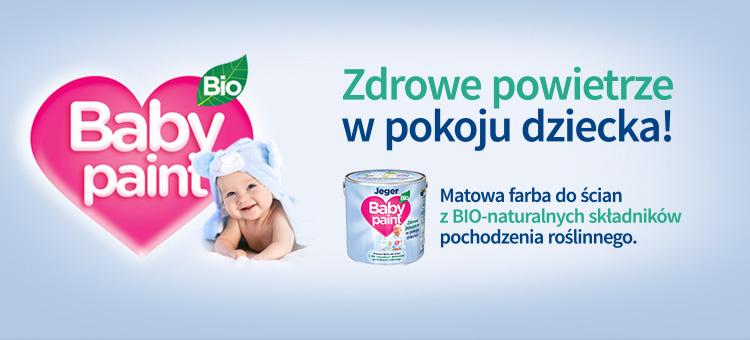 jeger baby paint bio - Niebieskie Pudełko