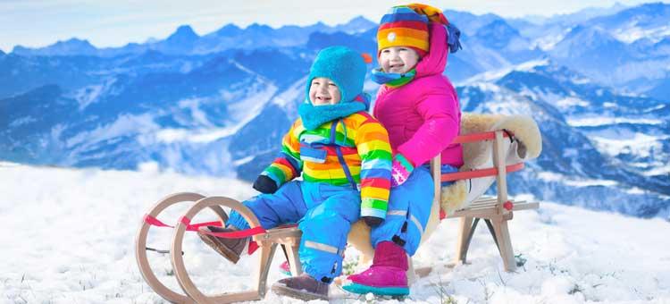 w góry z małym dzieckiem