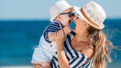 krem do opalania dla niemowlęcia