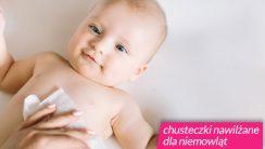 chusteczki nawilżane dla niemowląt